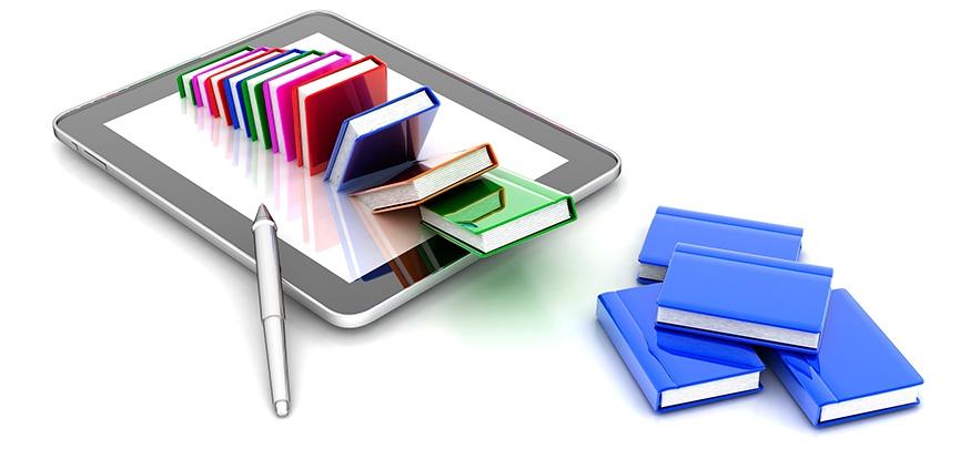 IT-sikkerhedsregler i et katalog på smartphone